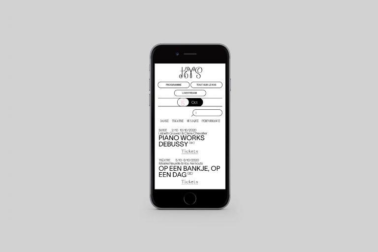 Evan Mollier Web Design Bachelor La Cambre Atelier Communication Graphique Visuelle